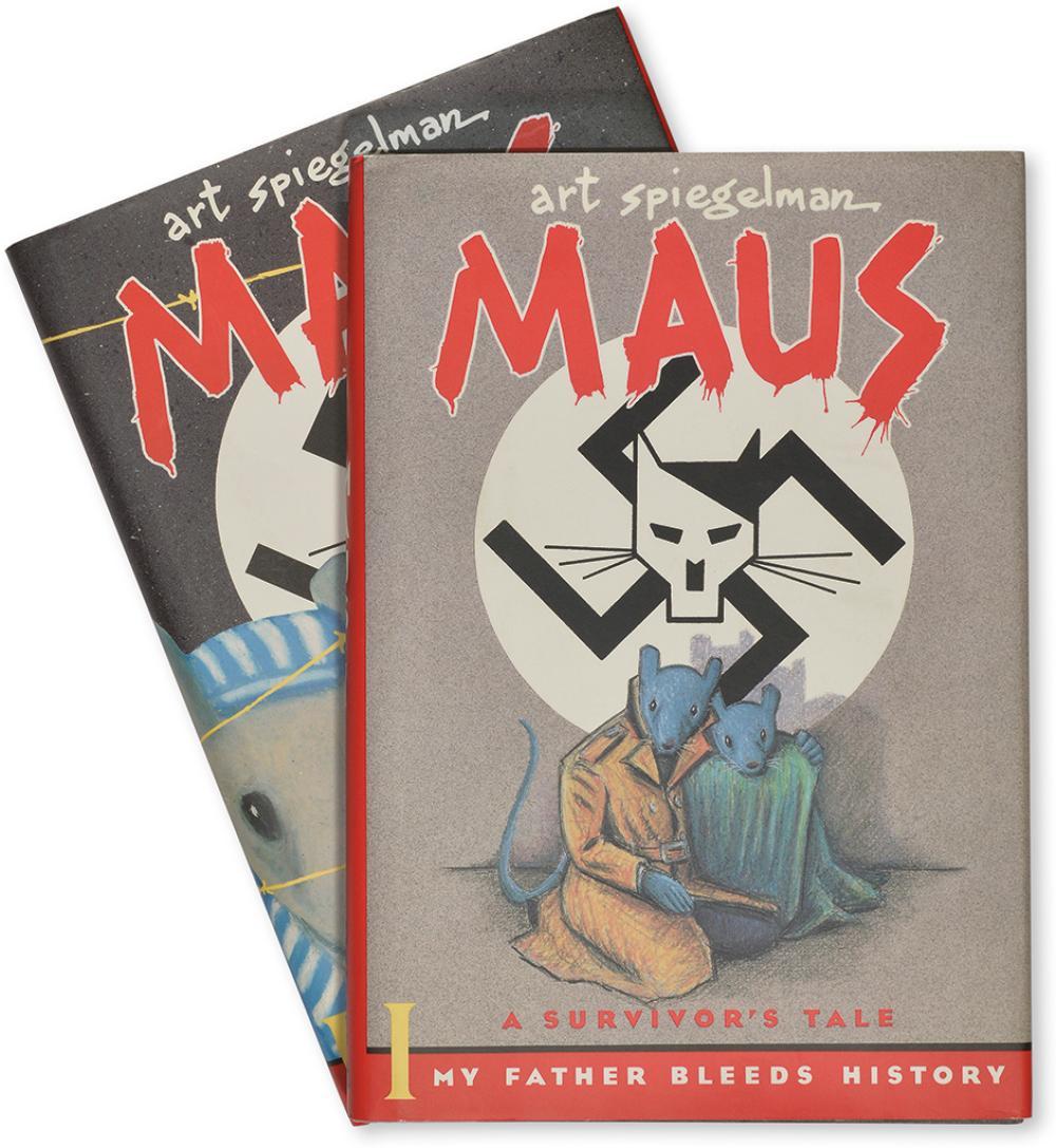 [COMIX.] Spiegelman, Art. Maus. A Survivor's Tale. Volumes I & II.