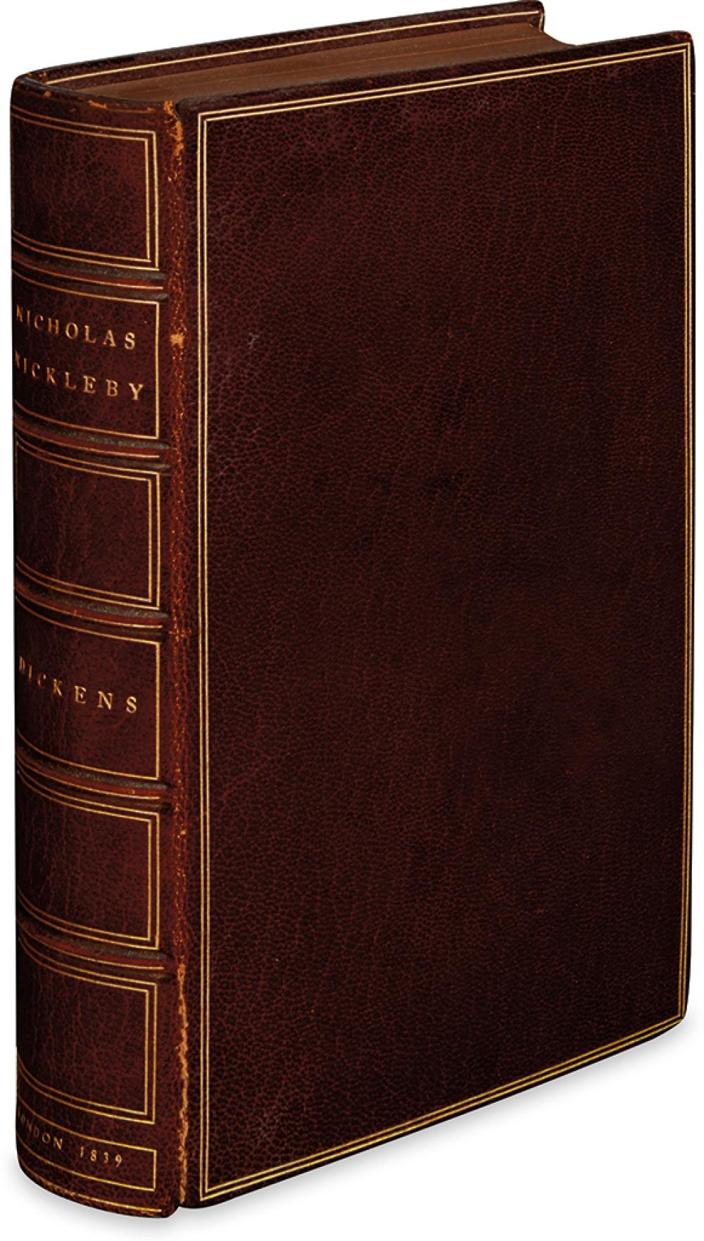 DICKENS, CHARLES. Life and Adventures of Nicholas Nickleby.
