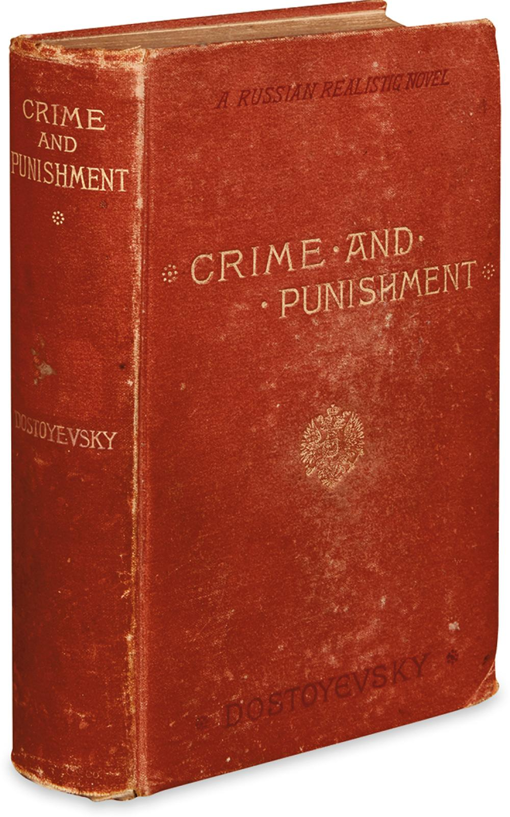 DOSTOYEVSKY, FEODOR. Crime and Punishment. A Russian Realistic Novel.