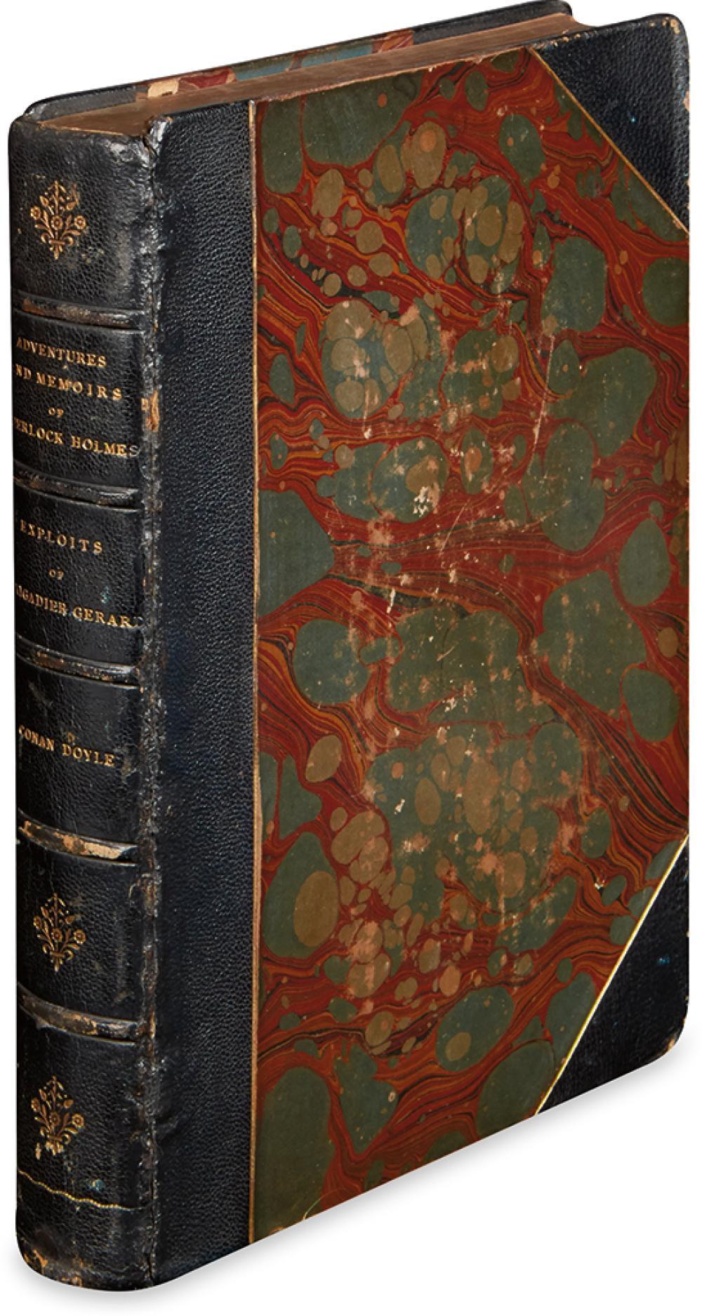 DOYLE, ARTHUR CONAN. Adventures of Sherlock Holmes * Memoirs of Sherlock Holmes * Exploits of Brigadier Gerard.