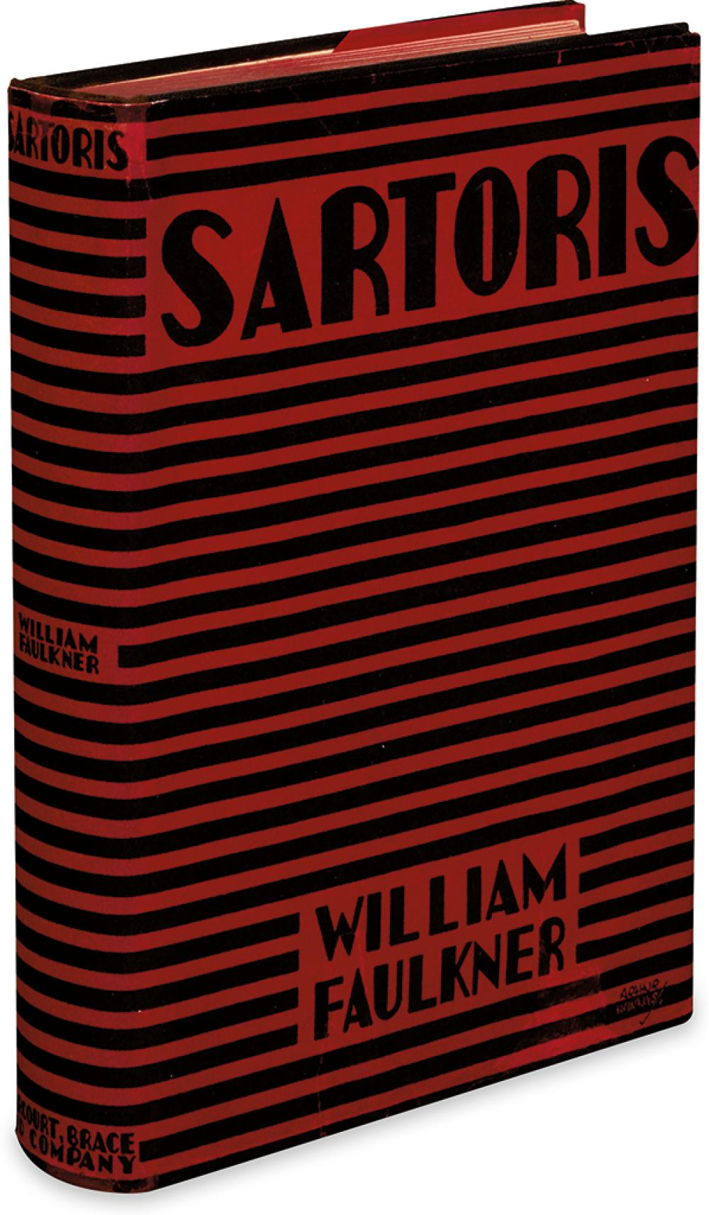FAULKNER, WILLIAM. Sartoris.