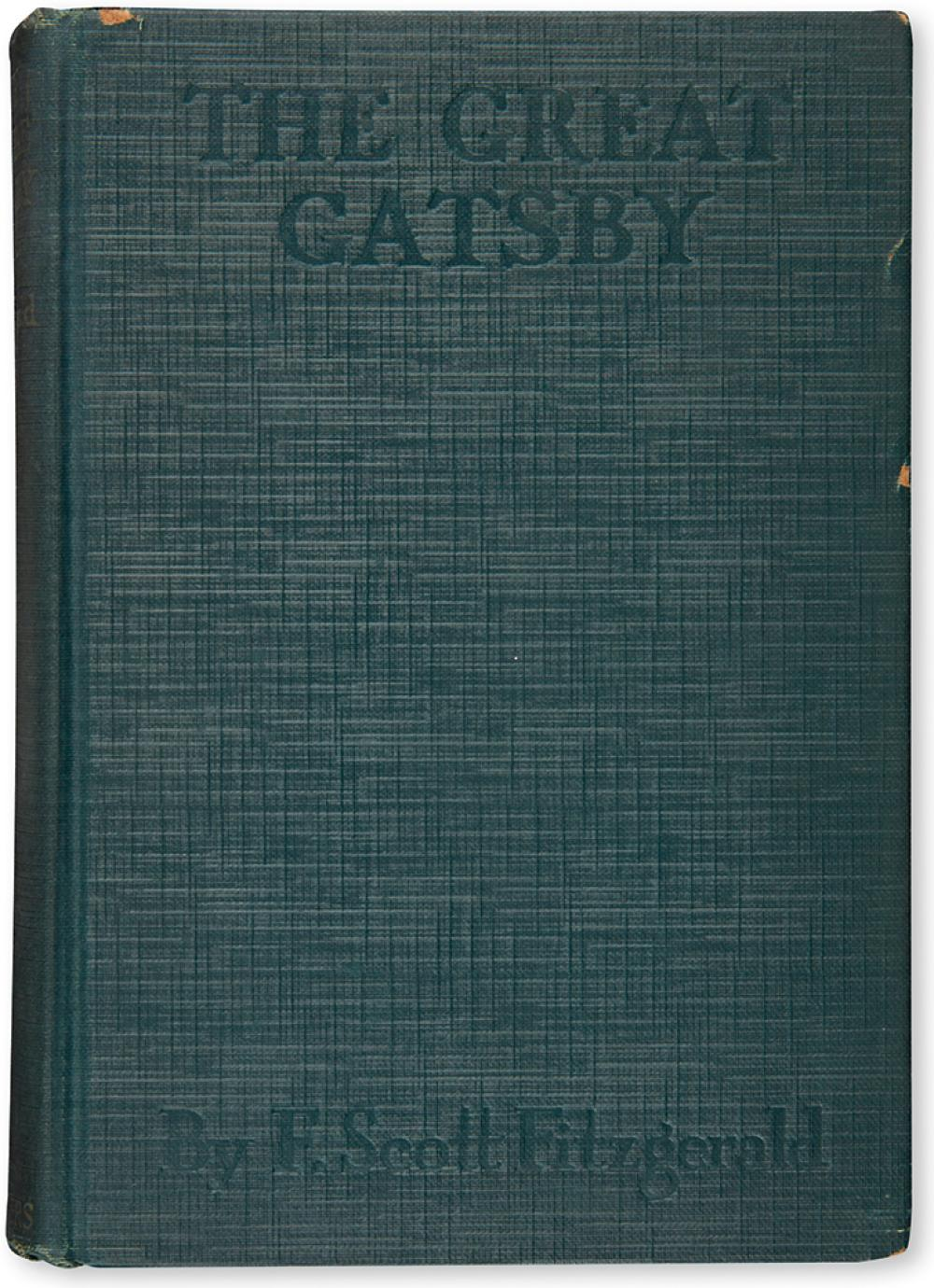 FITZGERALD, F.SCOTT. The Great Gatsby.
