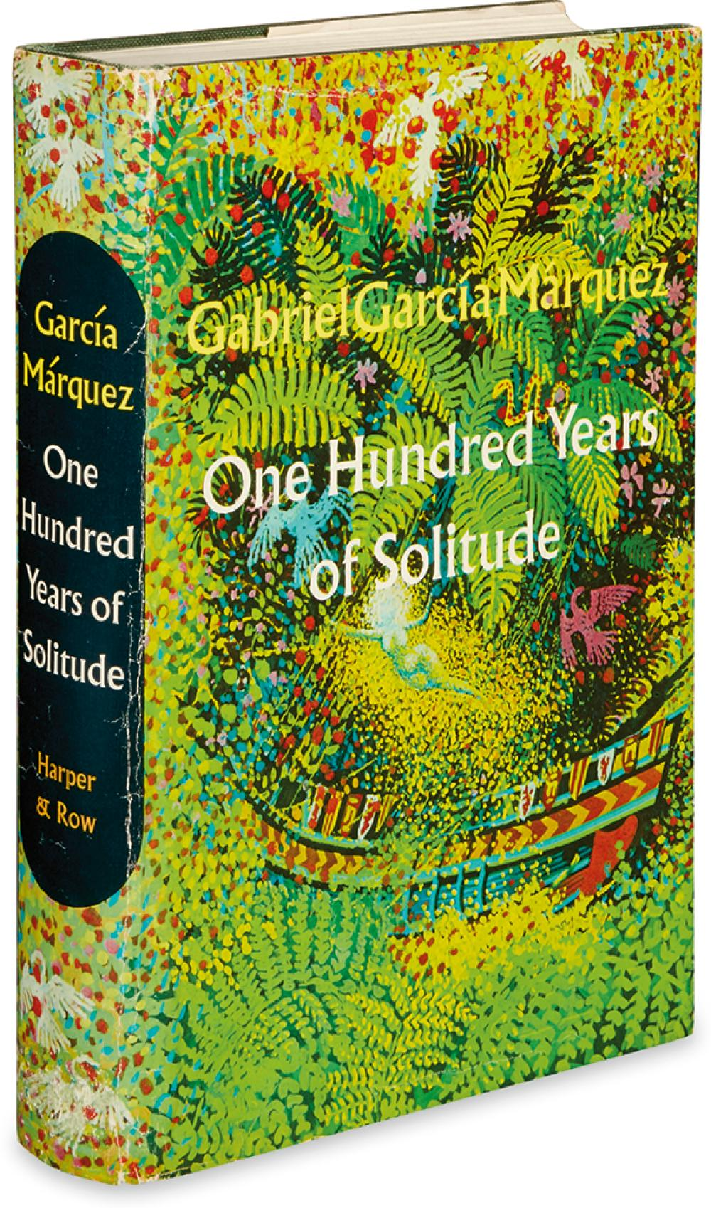 GARCÍA MÁRQUEZ, GABRIEL. One Hundred Years of Solitude.