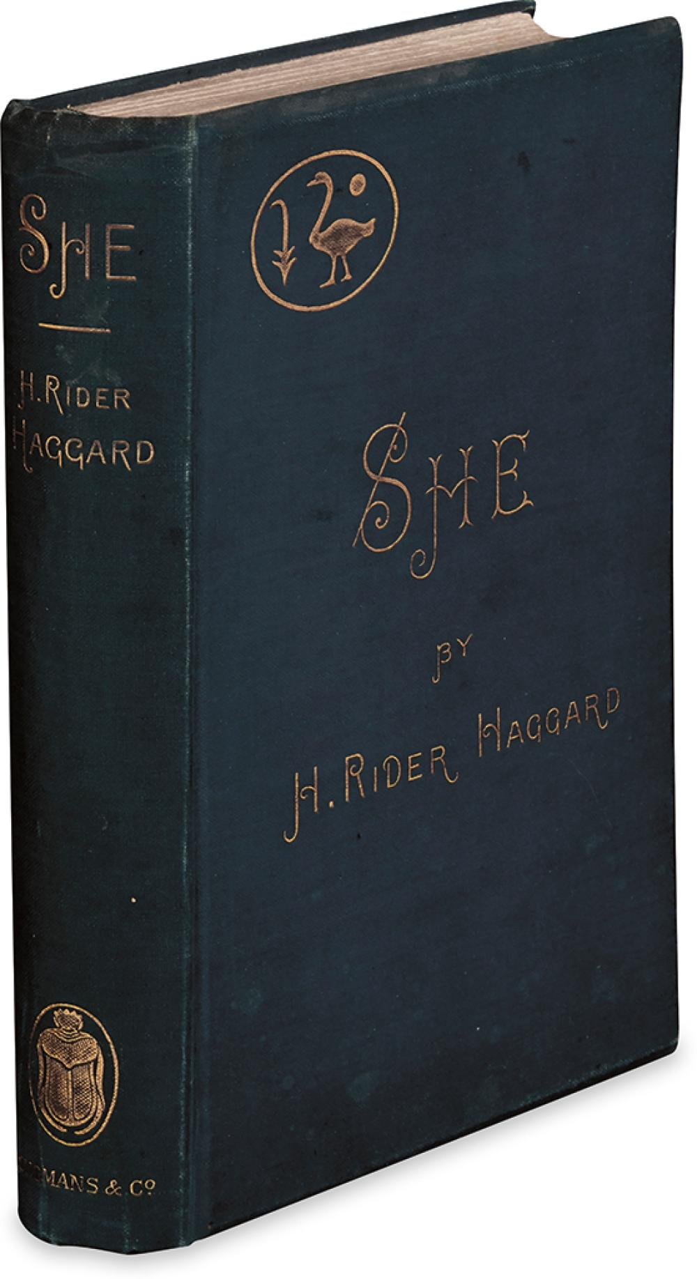 HAGGARD, H. RIDER. She. A History of Adventure.