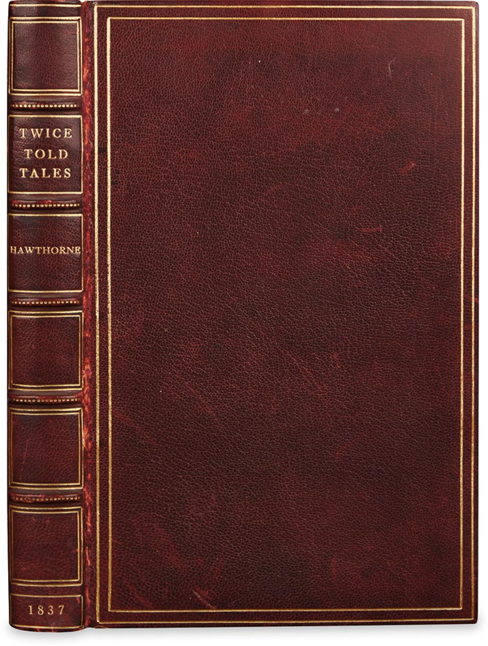 HAWTHORNE, NATHANIEL. Twice-Told Tales.