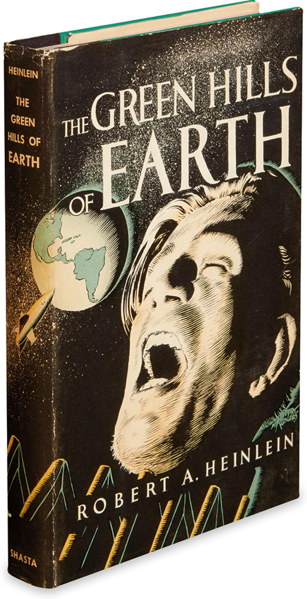 HEINLEIN, ROBERT A. The Green Hills of Earth.