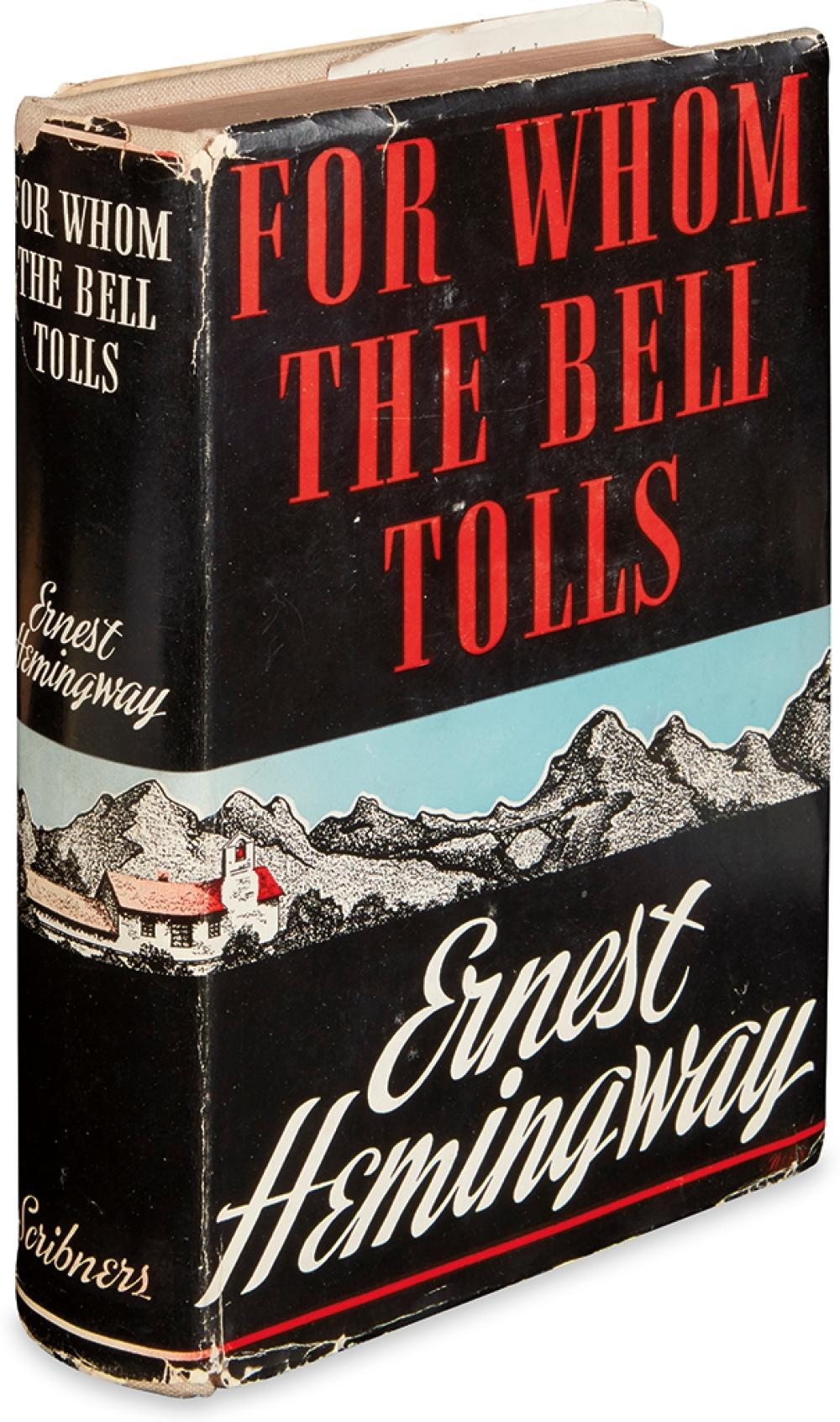 HEMINGWAY, ERNEST. For Whom the Bell Tolls.