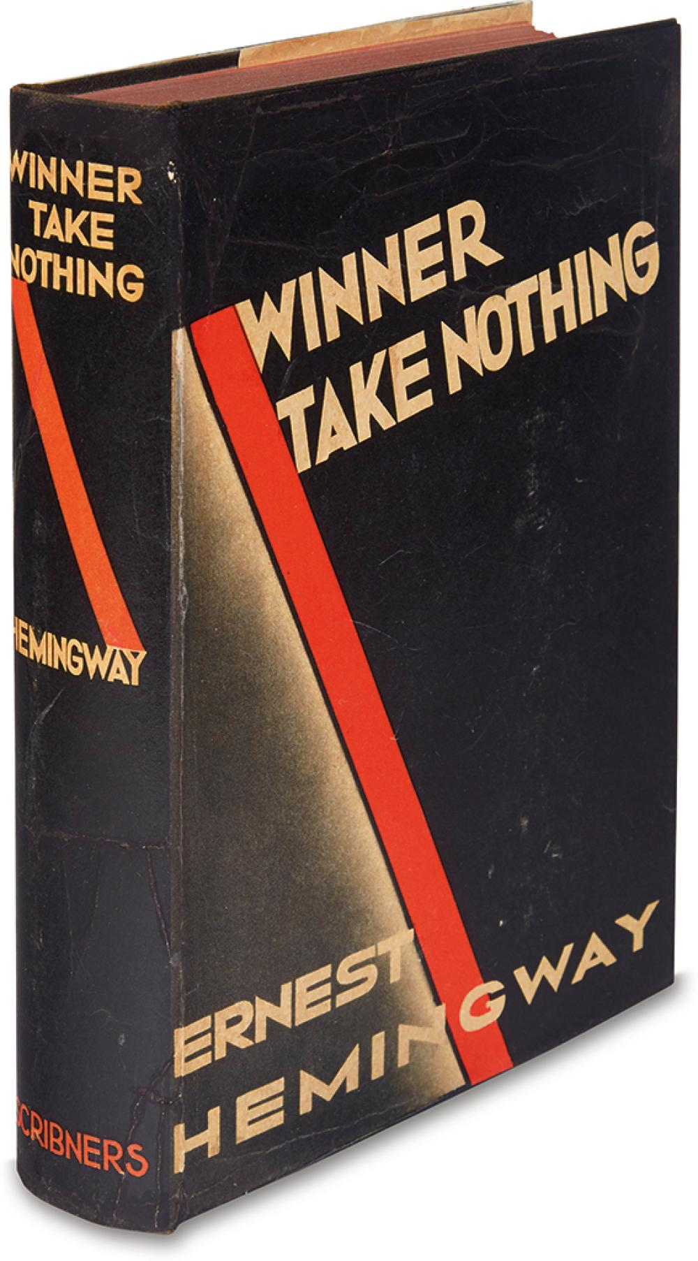 HEMINGWAY, ERNEST. Winner Take Nothing.