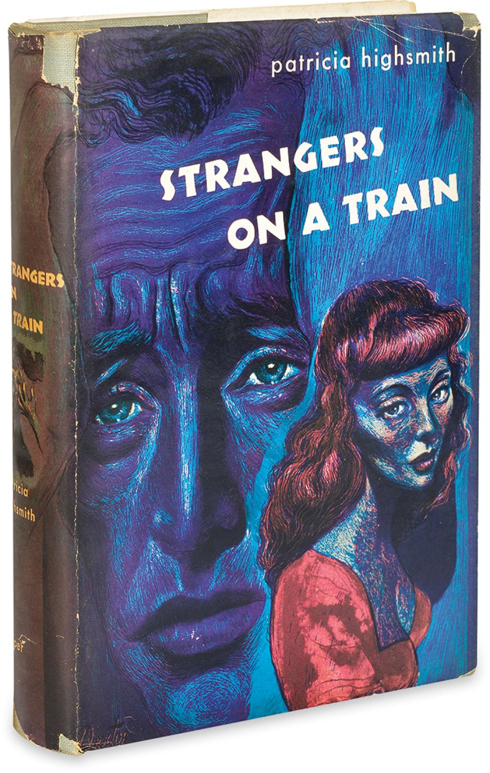 HIGHSMITH, PATRICIA. Strangers On A Train.