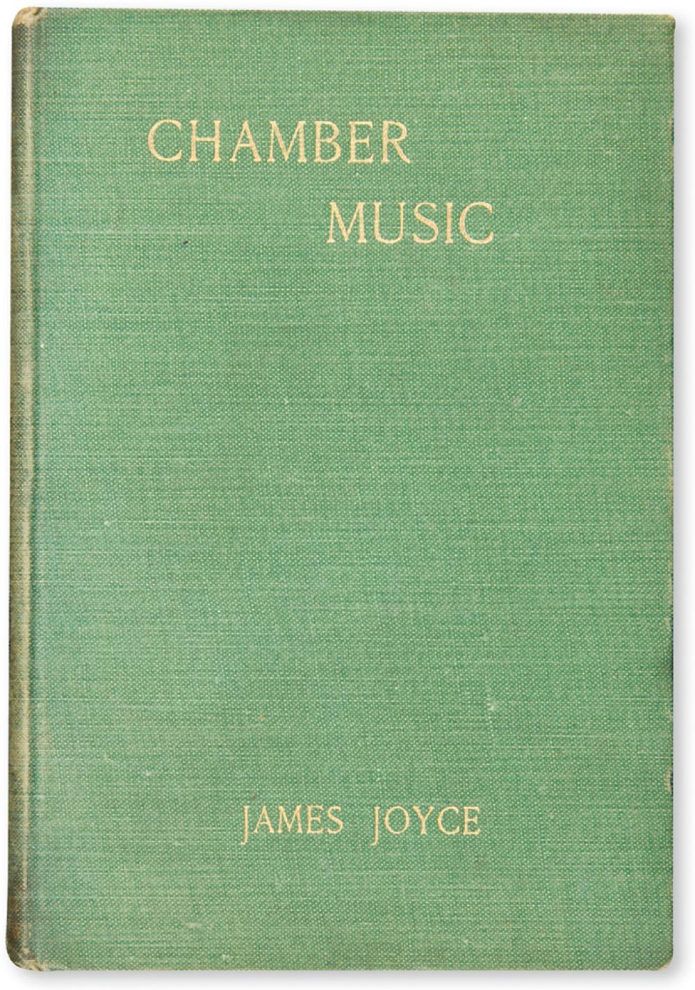 JOYCE, JAMES. Chamber Music.