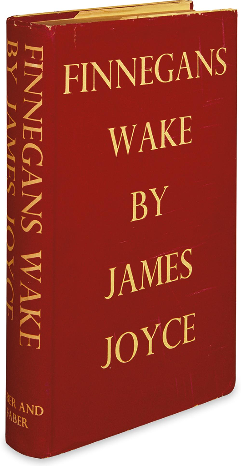 JOYCE, JAMES. Finnegans Wake.
