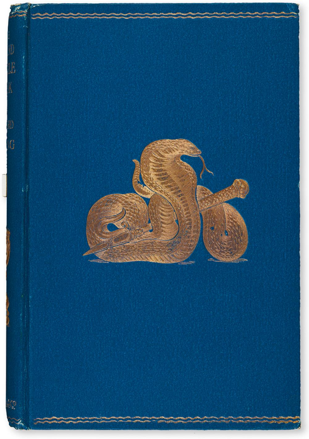 KIPLING, RUDYARD. The Second Jungle Book.