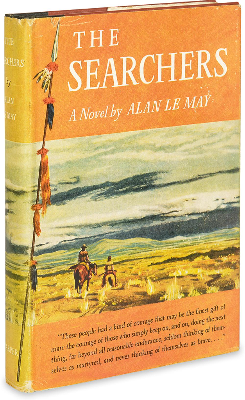 LE MAY, ALAN. The Searchers.