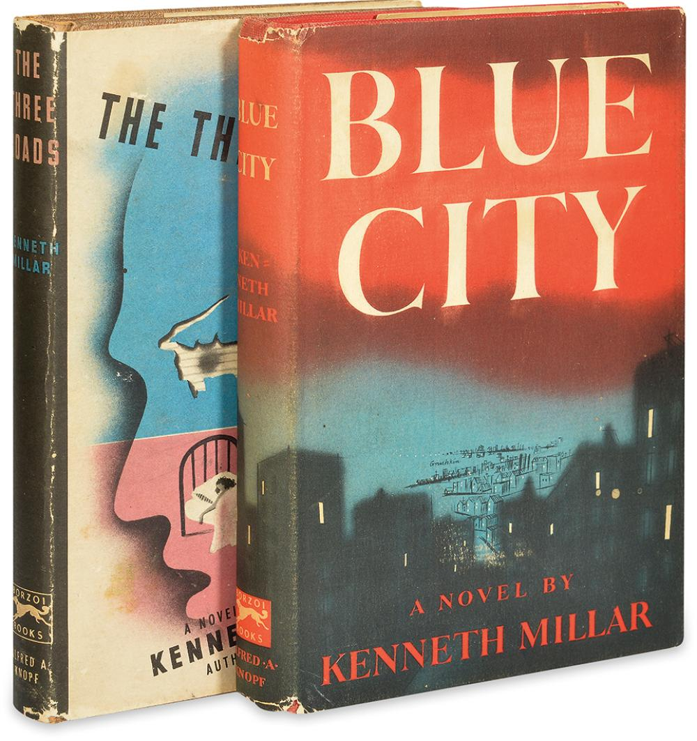 [MACDONALD, ROSS.] Millar, Kenneth. Blue City * The Three Roads.