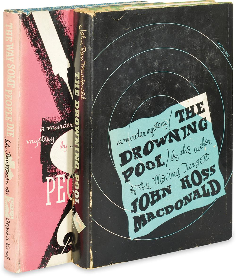 MACDONALD, ROSS. Drowning Pool * The Way Some People Die.