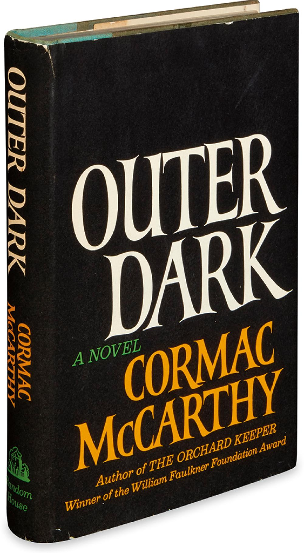 MCCARTHY, CORMAC. Outer Dark.