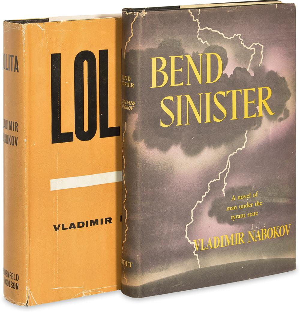 NABOKOV, VLADIMIR. Bend Sinister * Lolita.