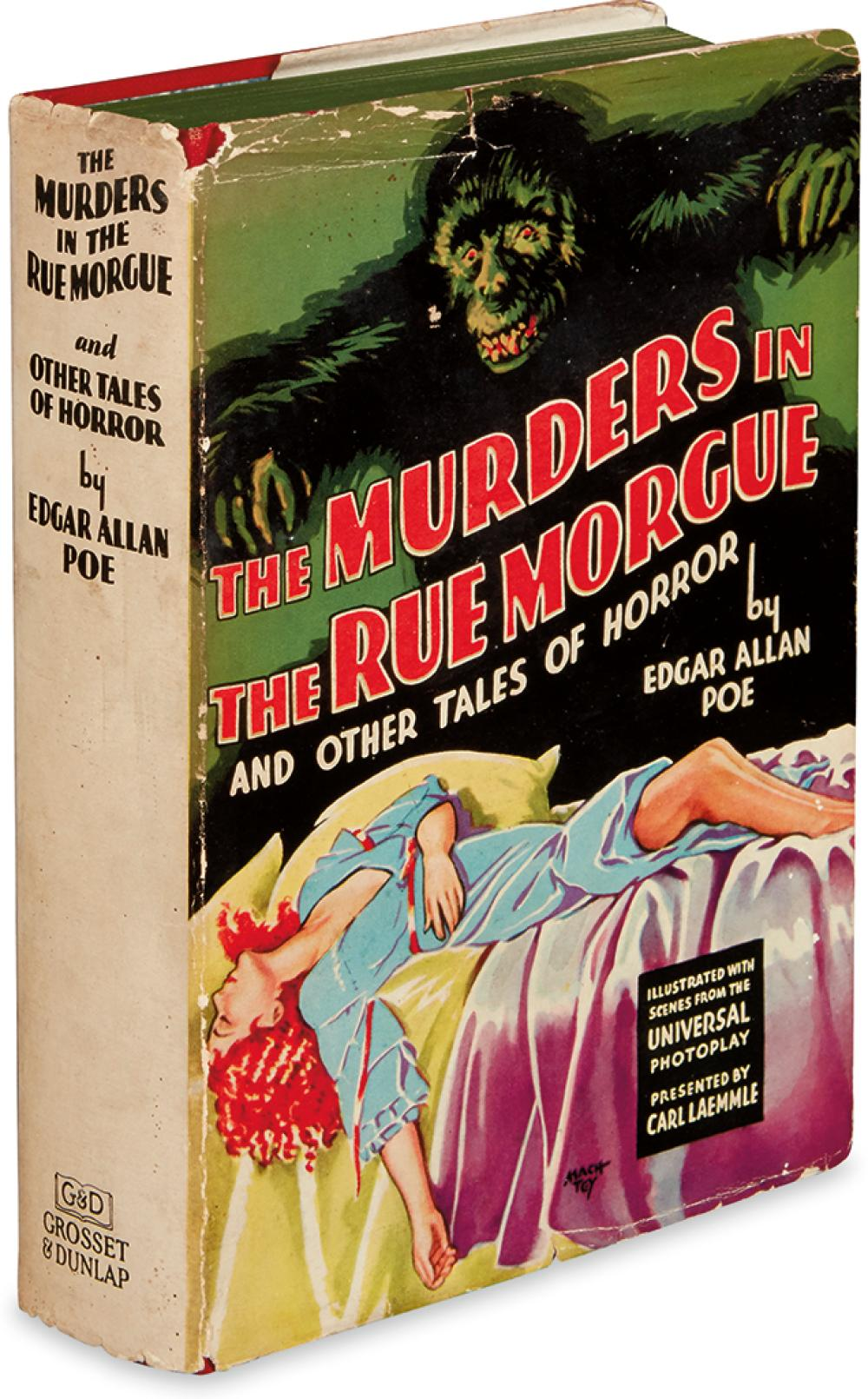 POE, EDGAR ALLAN. The Murders in the Rue Morgue and Other Tales of Mystery.