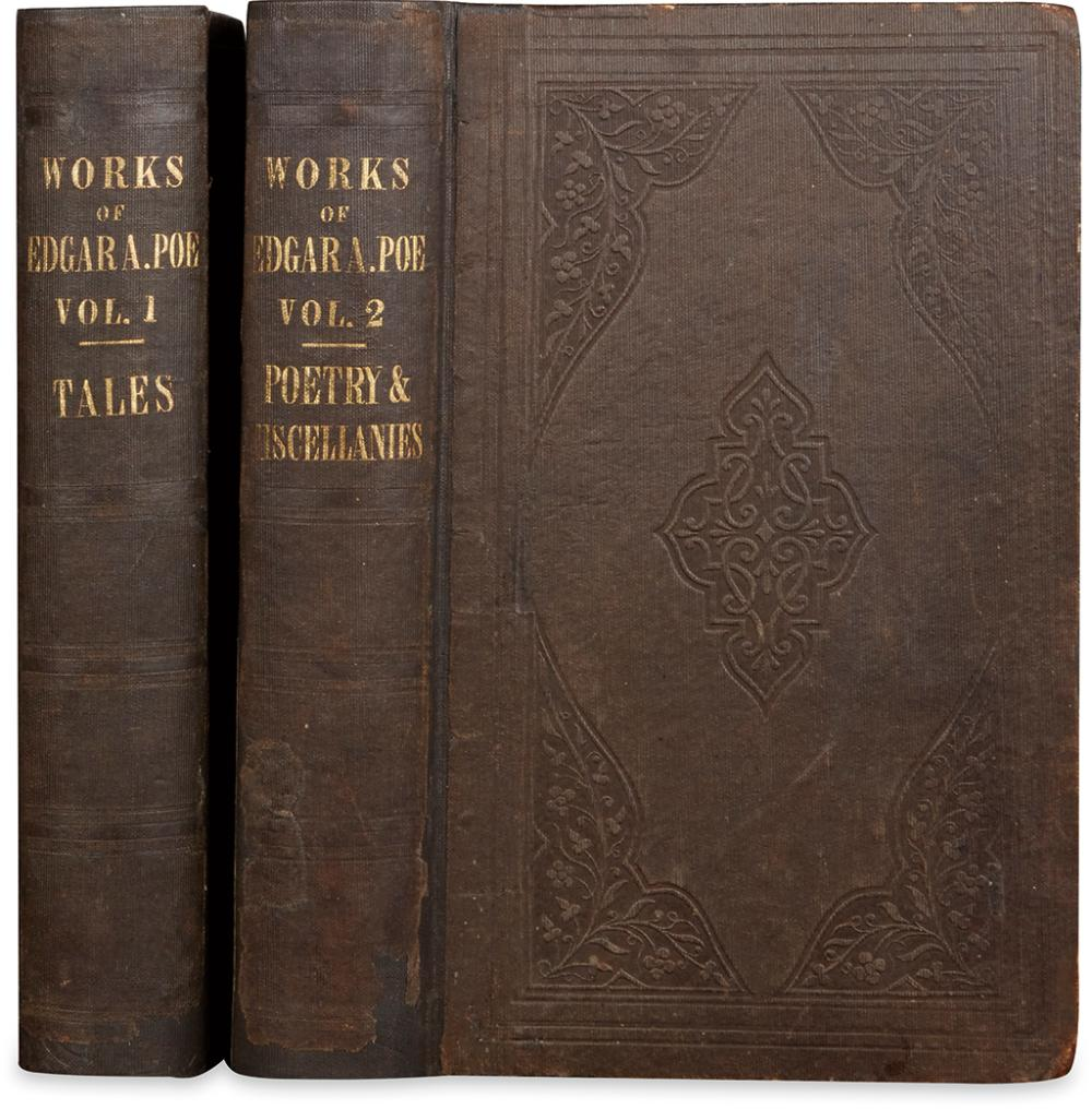POE, EDGAR ALLAN. The Works of the late Edgar Allan Poe: With Notices of His Life and Genius.