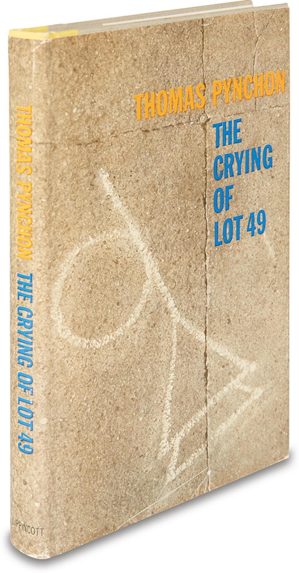PYNCHON, THOMAS. Crying of Lot 49.