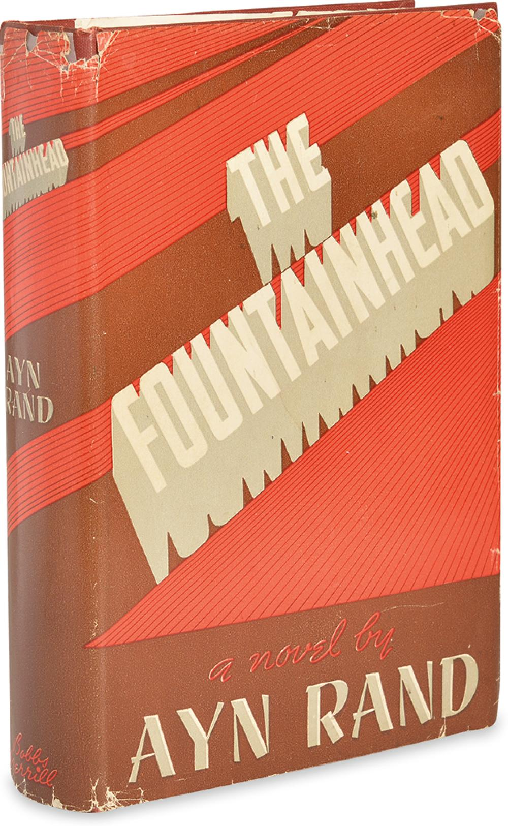 RAND, AYN. The Fountainhead.