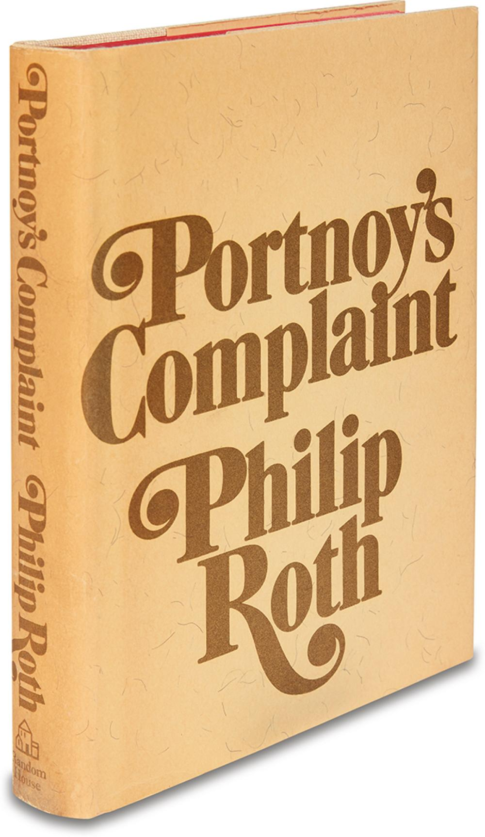 ROTH, PHILIP. Portnoy's Complaint.