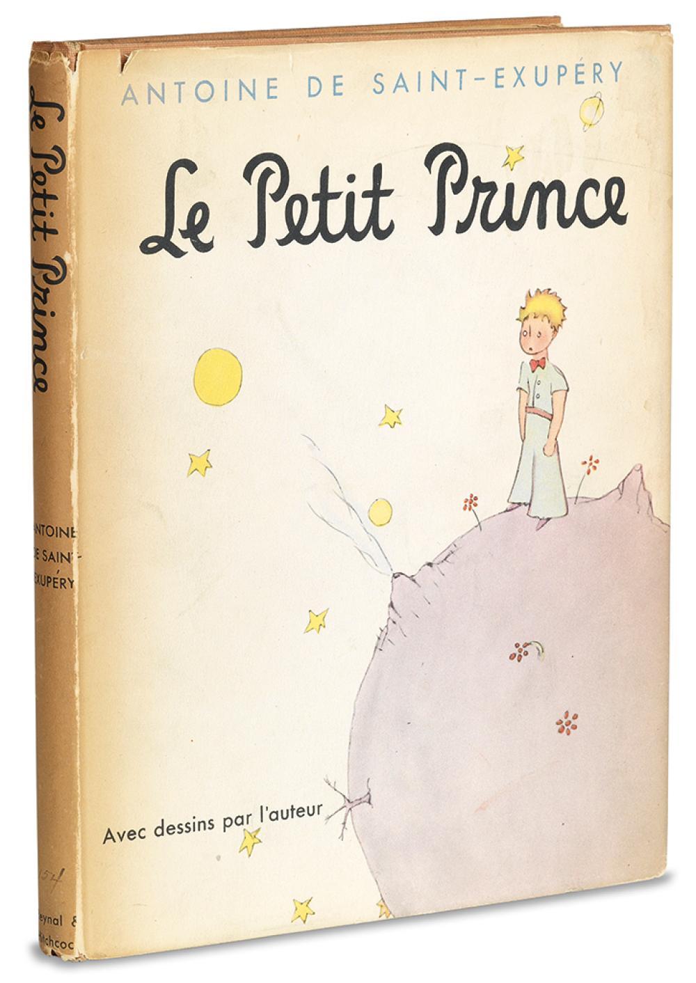 SAINT-EXUPÉRY, ANTOINE DE. Le Petit Prince.