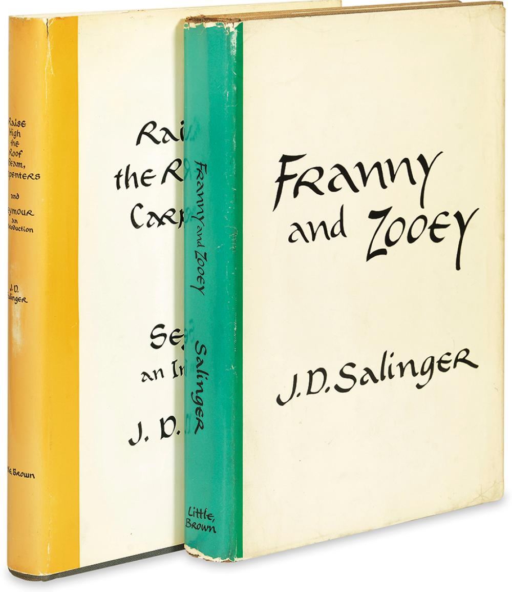 SALINGER, J.D. Raise High the Roof Beam, Carpenters and Seymour, an Introduction * Franny and Zooey.