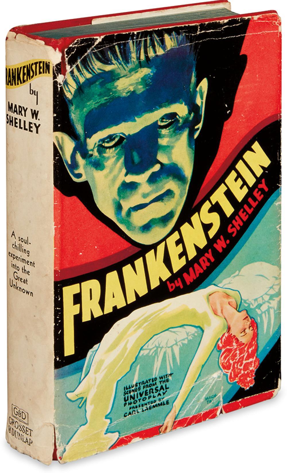 SHELLEY, MARY WOLLSTONECRAFT. Frankenstein.