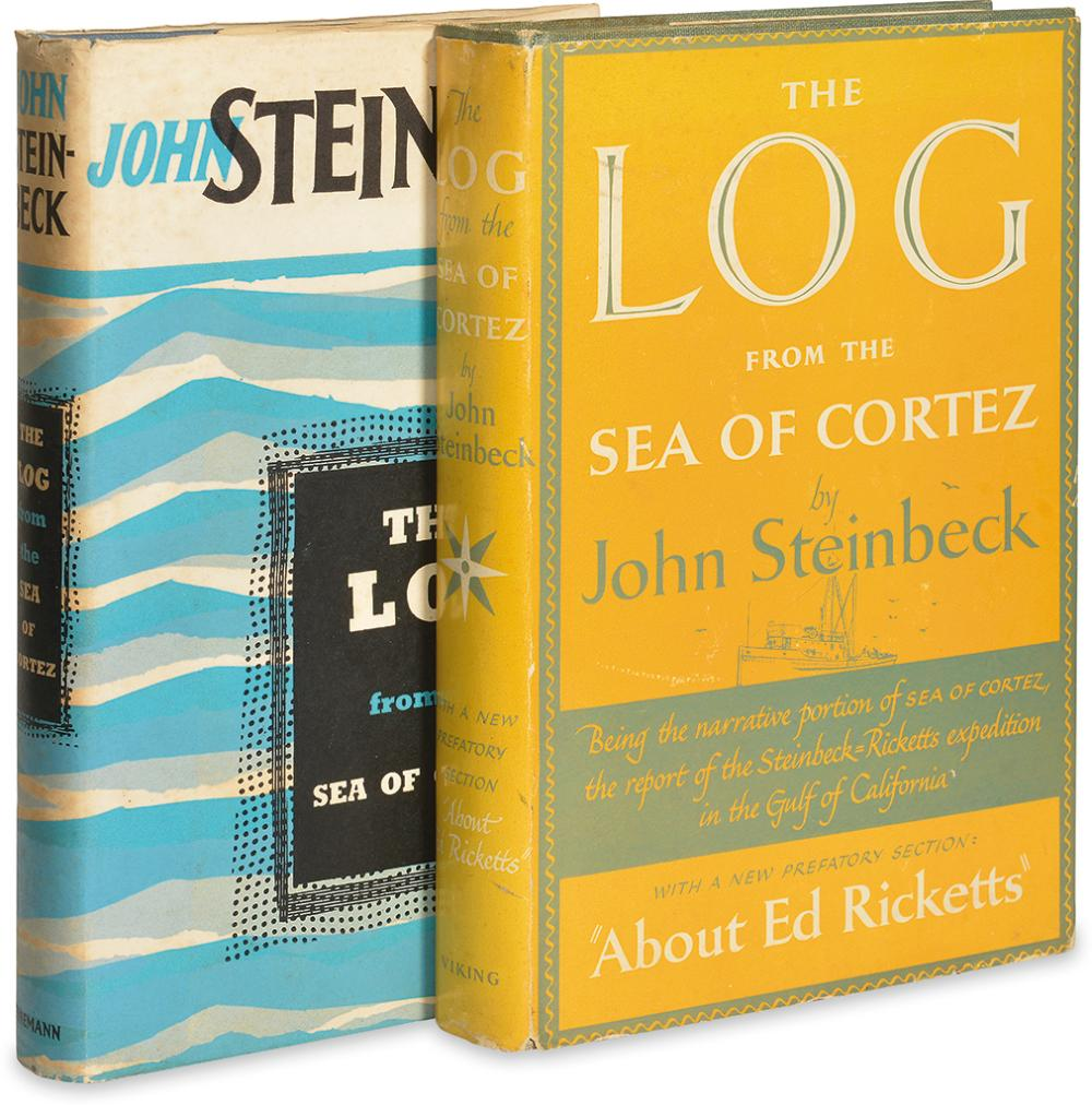 STEINBECK, JOHN. The Log From the Sea of Cortez.