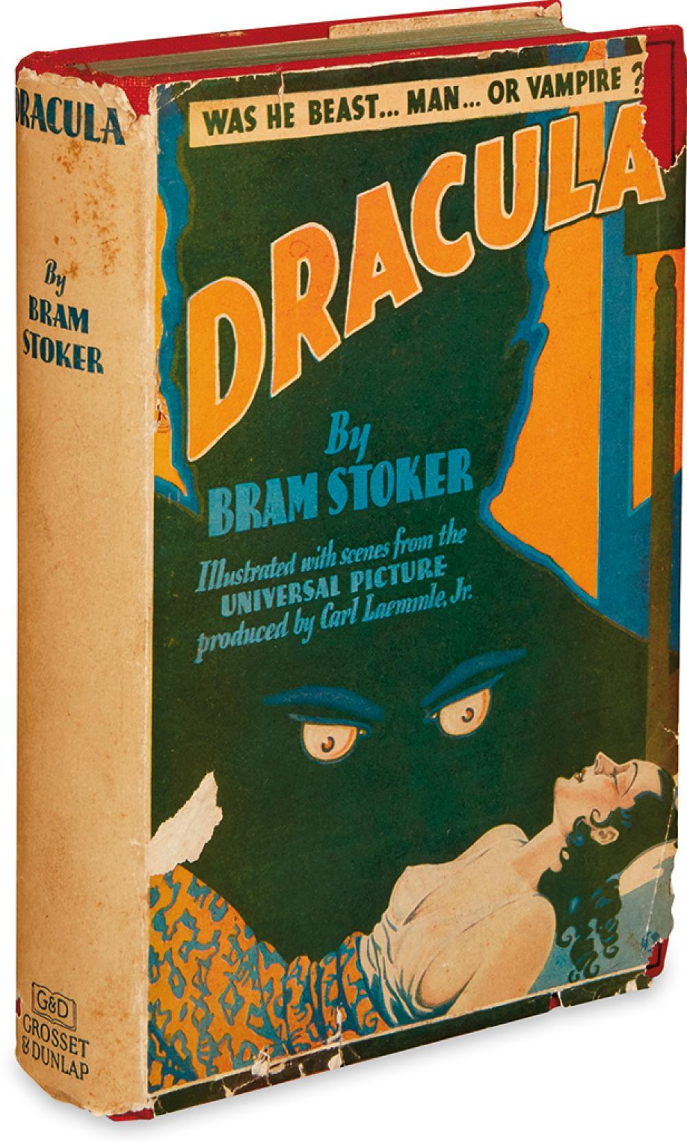 STOKER, BRAM. Dracula.