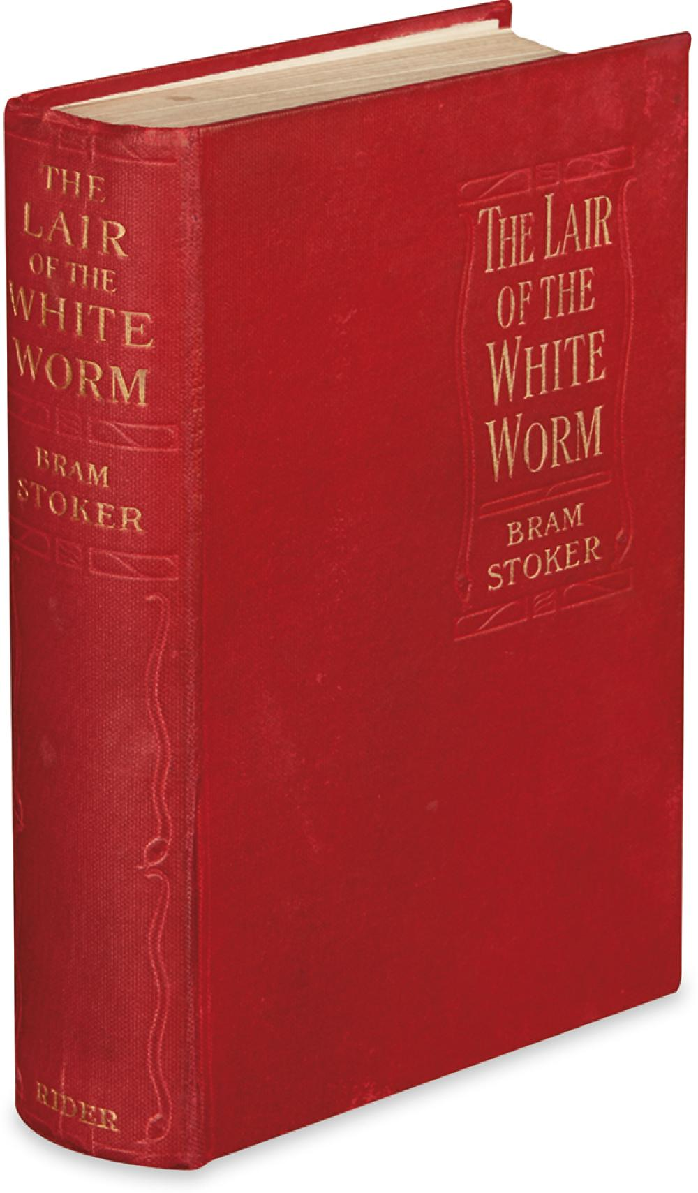 STOKER, BRAM. The Lair of the White Worm.