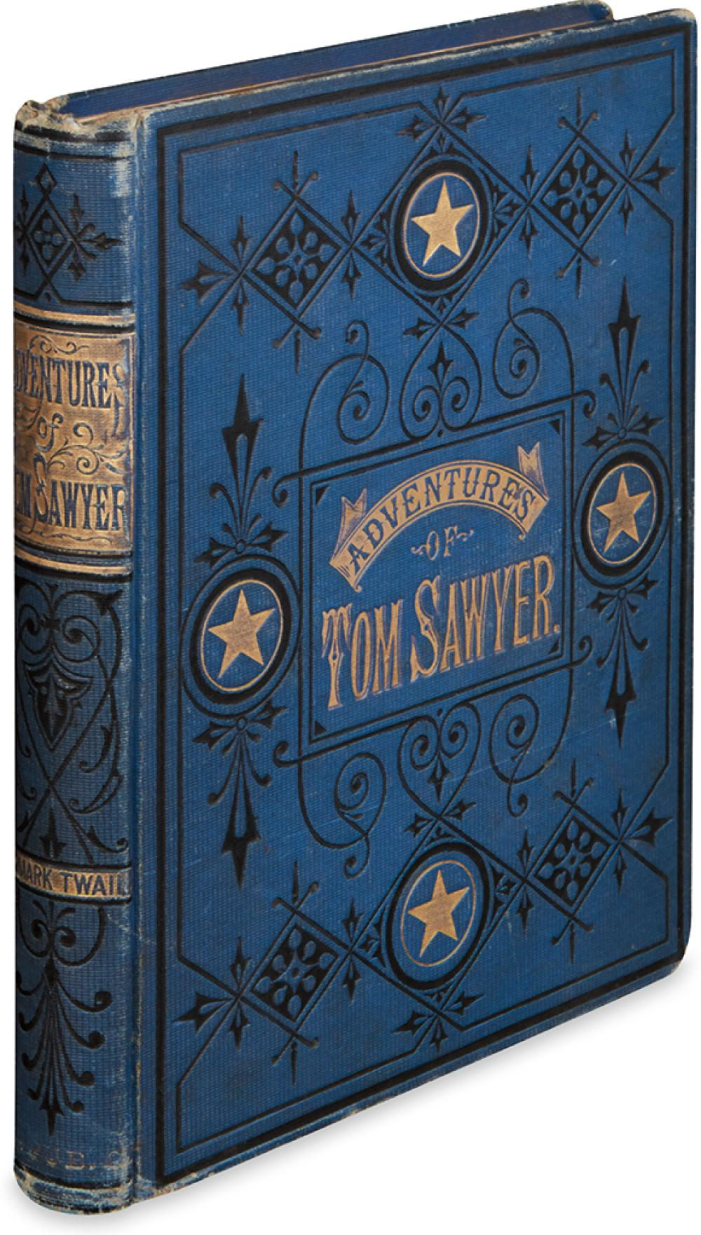 TWAIN, MARK. The Adventures of Tom Sawyer.