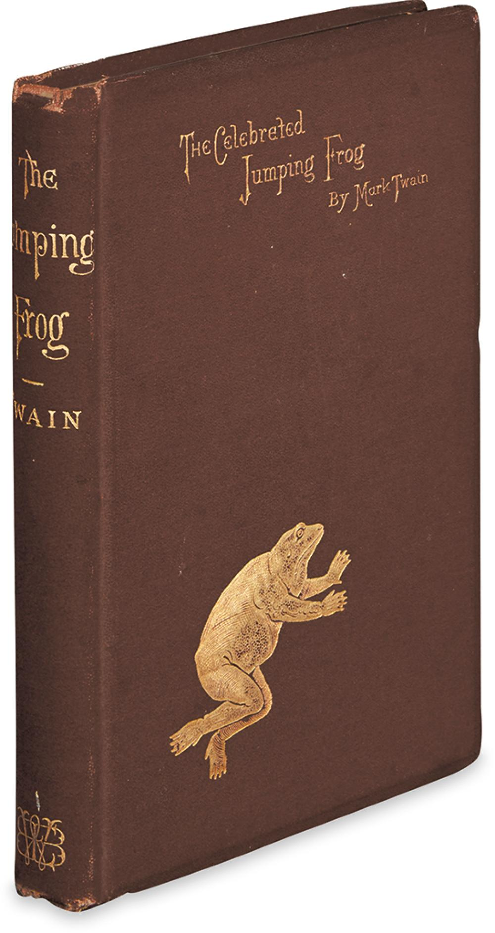 TWAIN, MARK. Celebrated Jumping Frog of Calaveras County.