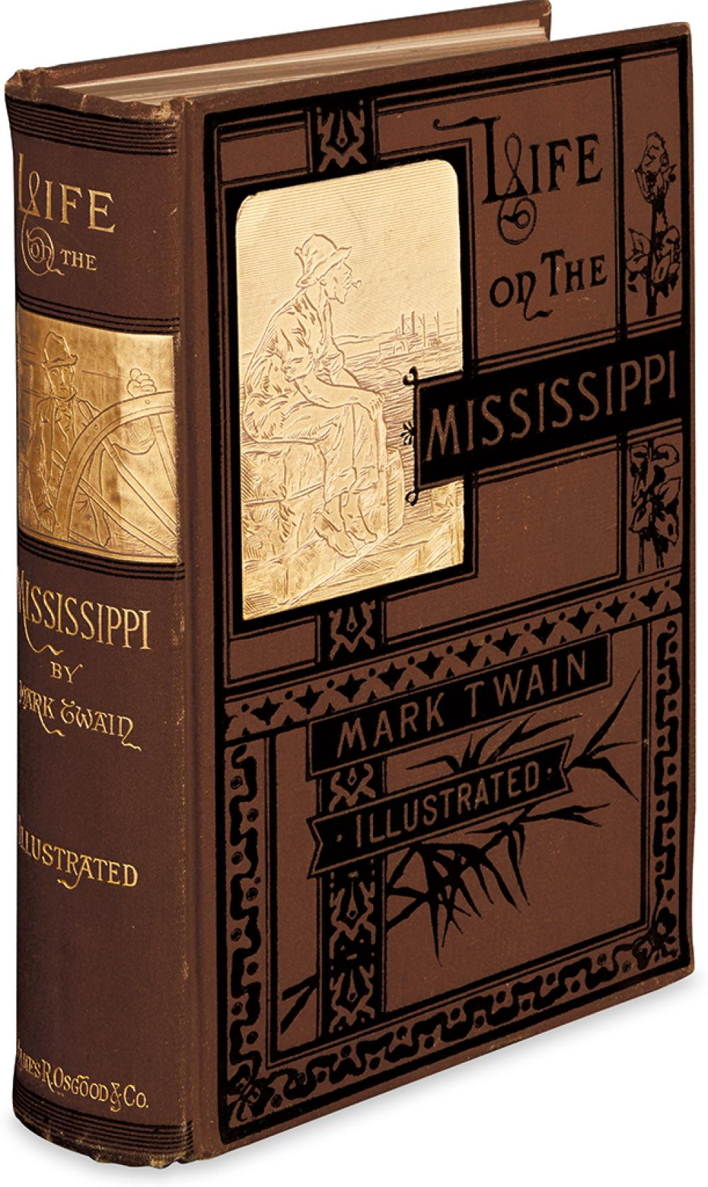 TWAIN, MARK. Life on the Mississippi.