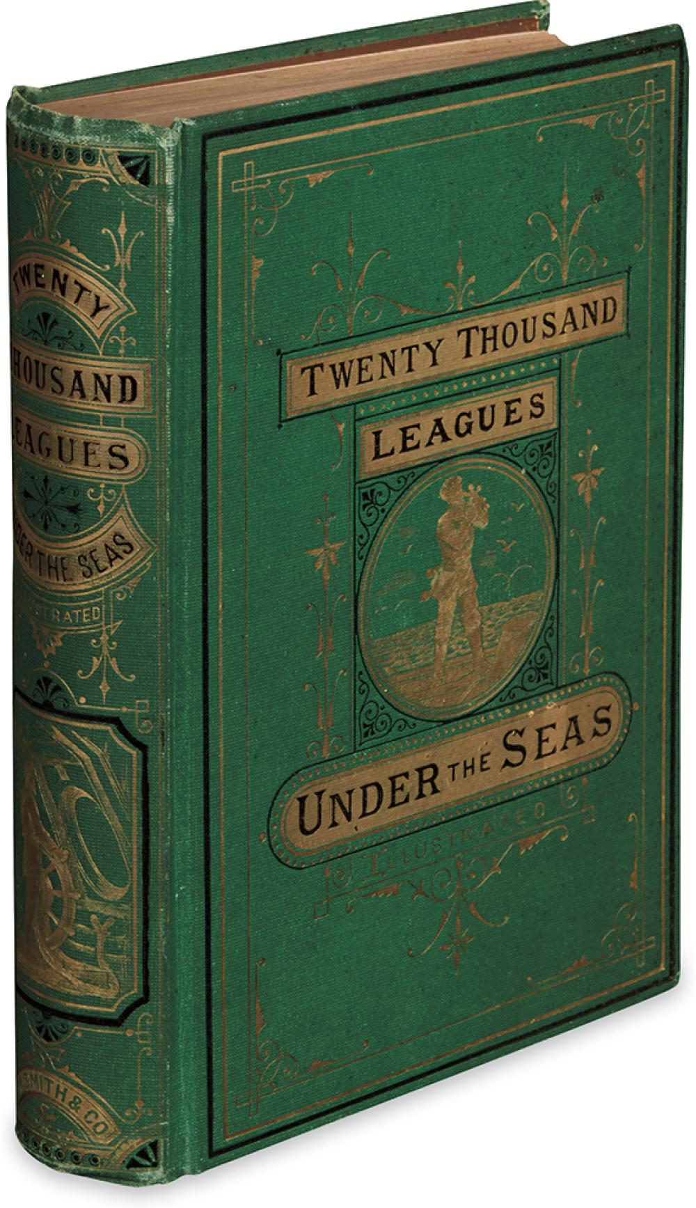 VERNE, JULES. Twenty Thousand Leagues Under the Seas.