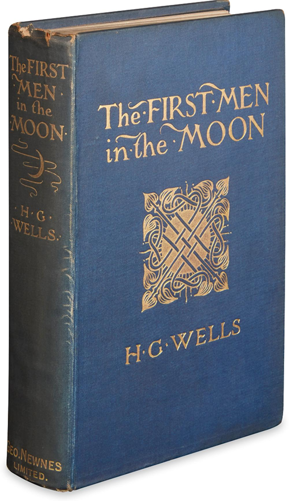 WELLS, H.G. First Men in the Moon.