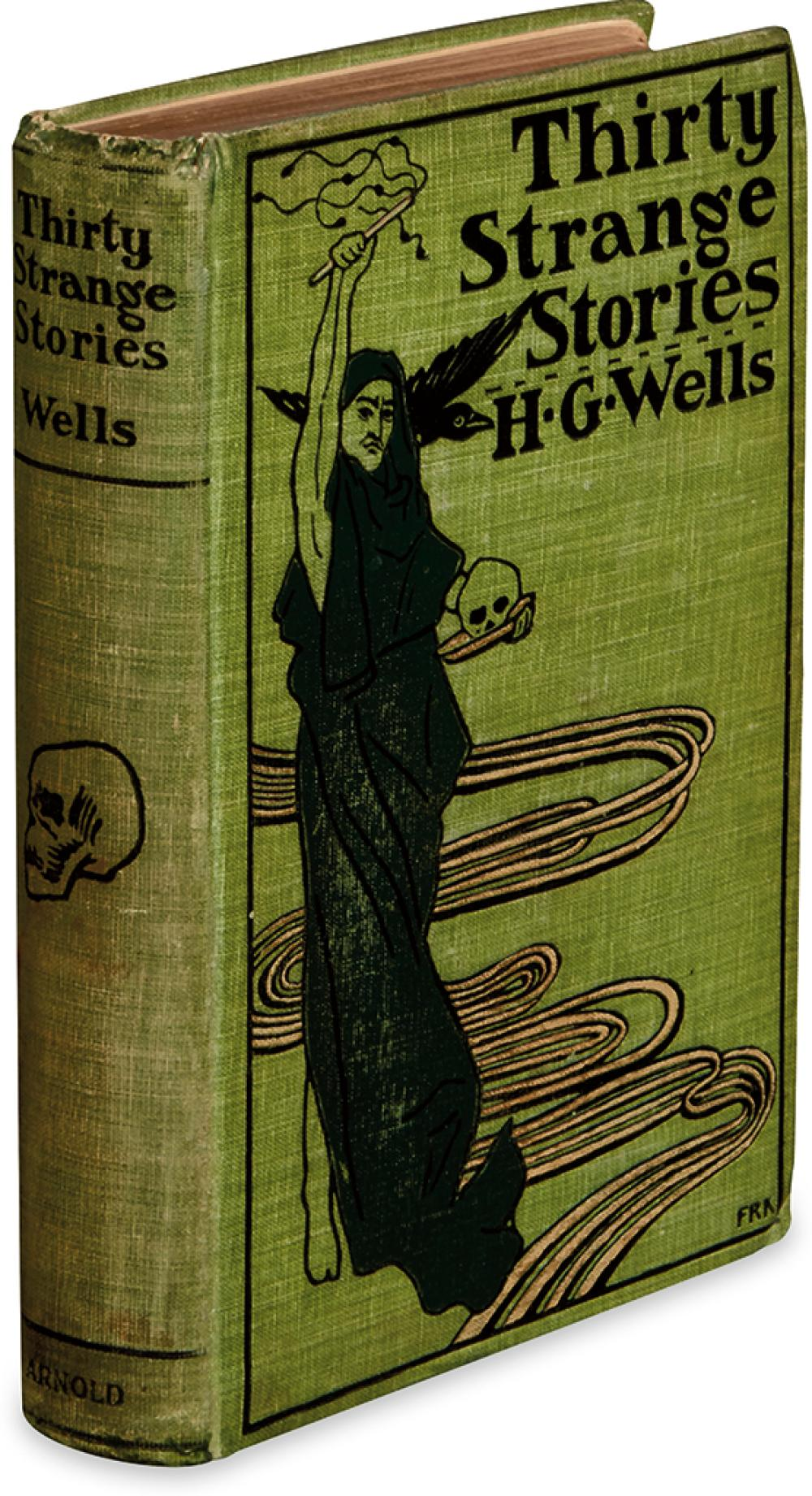 WELLS, H.G. Thirty Strange Stories.