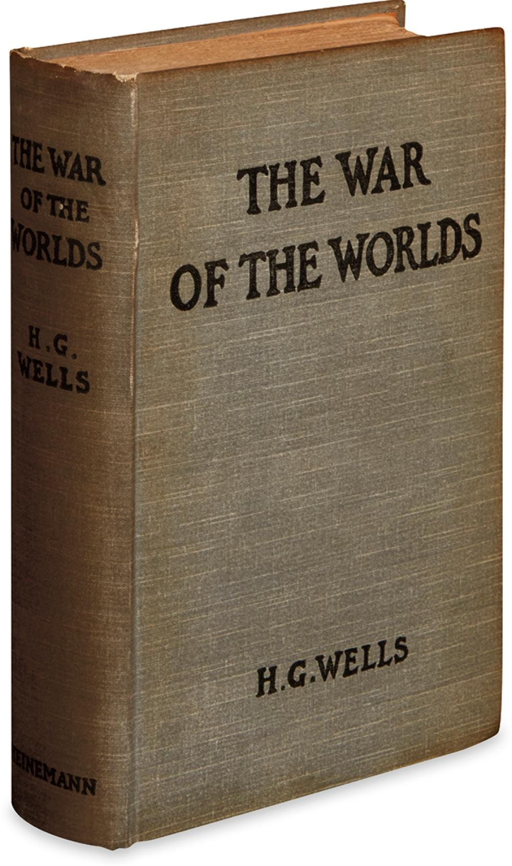 WELLS, H.G. War of the Worlds.
