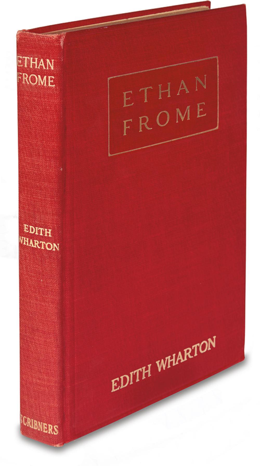 WHARTON, EDITH. Ethan Frome.