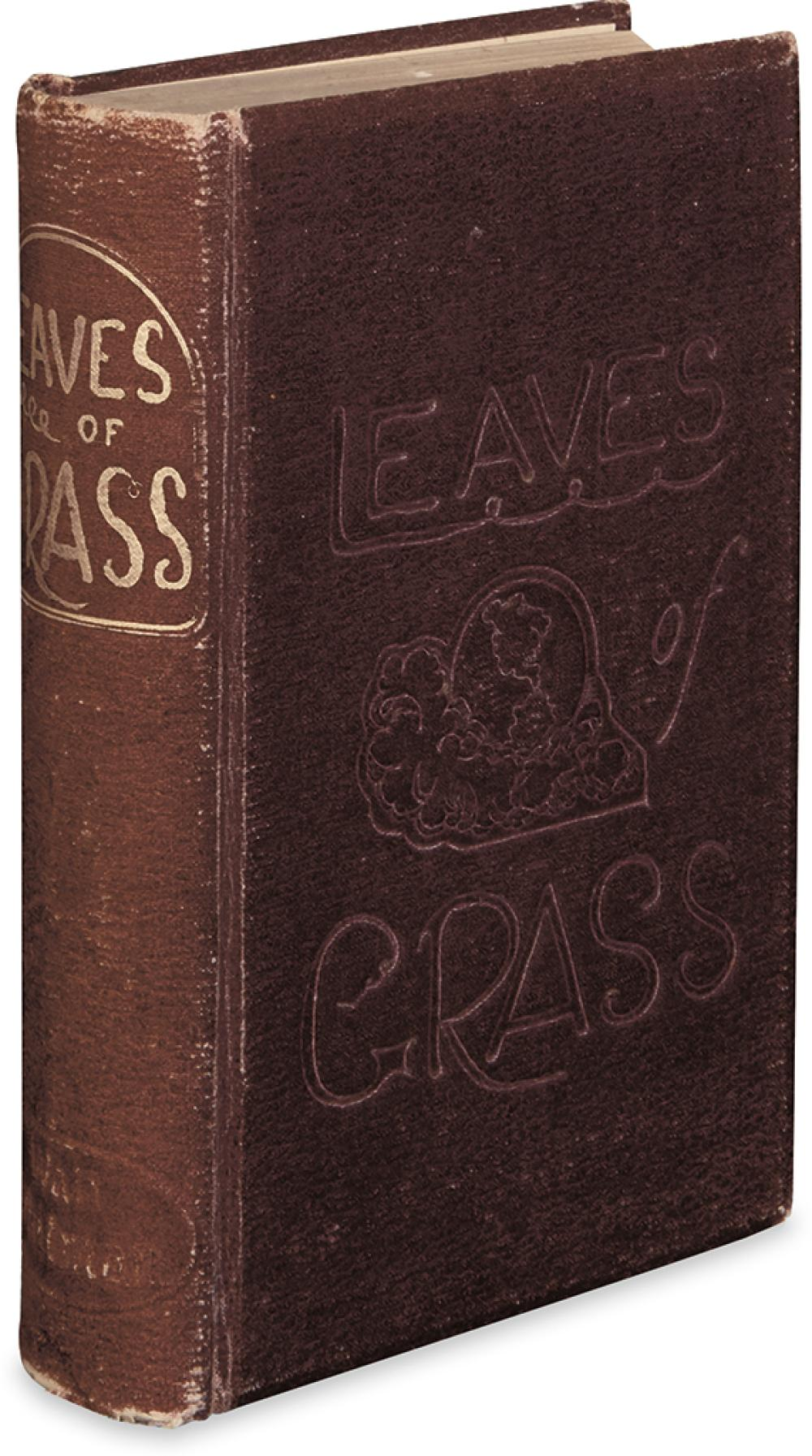 WHITMAN, WALT. Leaves of Grass.