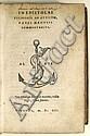 ALDINE PRESS  MANUTIUS, PAULUS. In epistolas Ciceronis ad Atticum . . . commentarius.  1553