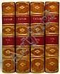 ADDISON, JOSEPH; STEELE, SIR RICHARD; et al.  The Lucubrations of Isaac Bickerstaff Esq.  4 vols.  1710-11