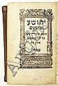 BIBLE IN HEBREW   [Nevi'im Rishonim.]  3 vols. in one.  1617