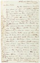 WILKINSON, JAMES. Autograph Letter Signed,