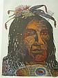 ANTONIO FRASCONI Group of 5 color woodcuts., Antonio Frasconi, Click for value
