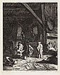 JOHANNES VISSCHER Group of 4 etchings., Jan