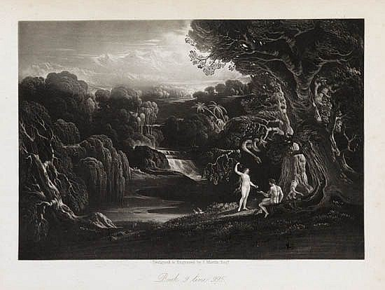 JOHN MARTIN Paradise Lost by John Milton.