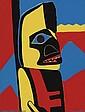 THELMA JOHNSON STREAT (1911 - 1959) Totem Pole Figure.