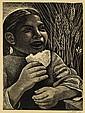 ELIZABETH CATLETT (1915 - 2012) Bread (Derecho Alimentarse).